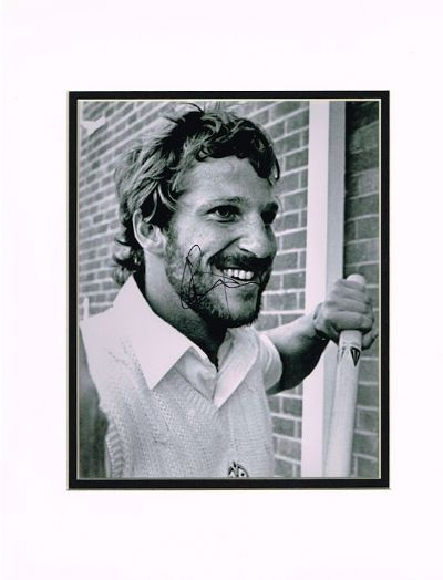 Ian Botham Autograph Photo Signed - Cricket